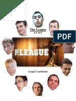 fantasy football league constitution