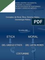 Moral, Ética y Derecho Médico