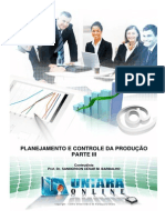 Planejamento e Controle Da Producao - Parte III