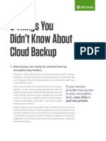 Druva-0002-5 Things You Didnt Know About Cloud Backup