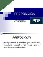 Preposición Unid III
