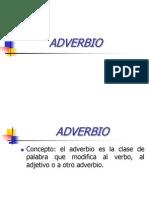 Adverbio Unid III