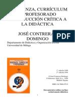CONTRERAS Domingo Enseñanza Curriculum y Profesorado