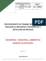 Pts Replanteo y Deteccion de Metales Mesa 30