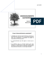 Aula 06 - Desenvolvimento Sustentavel