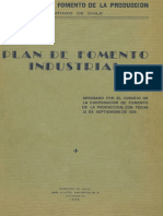 CORFO, Plan de Fomento Industrial (1939)