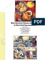 Best Summer Events and Parties in West End Vancouver British Columbia