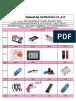 HWD-usb flash drives catalog