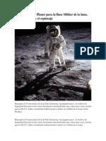 Desclasificados Planes Para La Base Militar de La Luna, Las Explosiones y El Espionaje