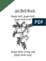 Jingle Bell Rock, Blackline Master