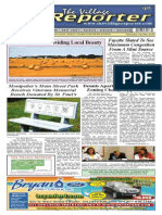 The Village Reporter - July 30th, 2014