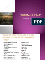 montana 1948 - themes
