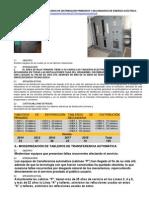 6 Sustitución de Tableros de Distribución 1ria y 2daria de Energía Eléctrica 29-07-2014