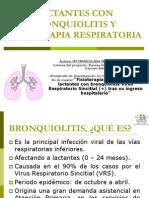 Lactantes Con Bronquiolitis y Fisioterapia Respiratoria