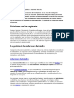 Diferencia Entre Relaciones Publicas y Relaciones Laborales