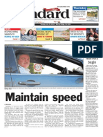 Murray Valley Standard front page - July 29
