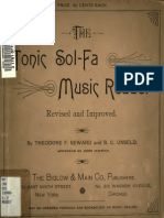 The tonic sol-fa music reader