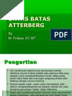 BATAS BATAS ATTERBERG