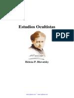 Blavatsky H P - Estudios Ocultistas