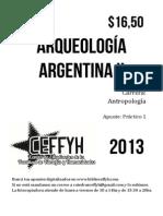 Arqueología Argentina II UNC - Práctico 1