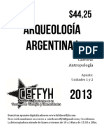 Arqueología Americana I UNC - Unidades 1 y 2