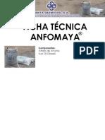 Ficha Técnica Anfomaya Prueba