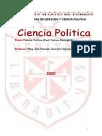 Ciencia Politica, Teoria Del Estado y Derecho Constitucional.