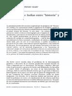 Cronica Entre Historia y Ficcion-Poupeney Hart 1991-Libre