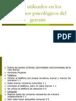 Tests+utilizados+en+los+trastornos+psicológicos+del+geronte