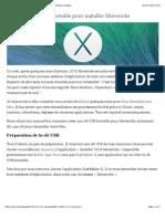 Créer une clé USB bootable pour installer Mavericks - Antoine Guilbert.pdf