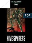 Codex Hive Spyrers for 7th Edition 40K