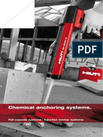 Hilti Fastening Technology Manual - Chemical Anchors