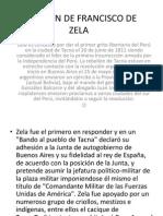 Revelion de Francisco de Zela