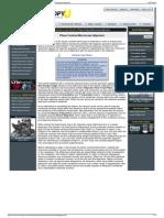 Nikon MicroscopyU Interactive Java Tutorials Phase Contr