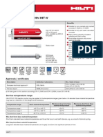 Hilti Fastening Technology Manual - HIT-HY 200 Injectable Mortar With HIT-V Anchor Rod