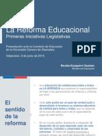 Presentacion Camara Diputados 02-06-2014
