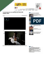 La Mayoría de Los Muertos en Gaza Son Civiles- OnU — La Jornada