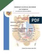 1er Informe - Analizador Sintactico