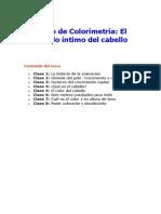 Curso de Colorimetr a Del Cabello