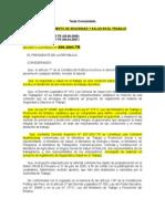 1.- DeCRETO SUPREMO N. 009-2005-TR.- Reglamento de Seguridad y Salud en El Trabajo