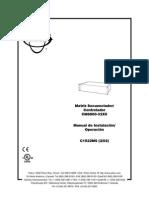 Pelco CM6800-32X6 ES Manual