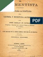 El Rudimentista 1889