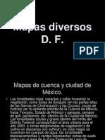 Mapas de Riesgos en El D. F.
