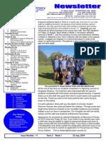 Newsletter 23july2014