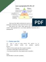 Como Usar as Preposições