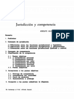 Jurisdiccion y Competencia AAV
