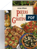 ANNE WILSON PIZZAS Y GRATINADOS