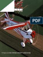 Vintage Airplane - May 2000