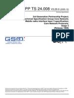 3GPP Radio Interface Layer Core Network24008-840