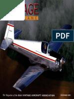 Vintage Airplane - Nov 2001